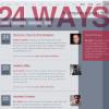 24ways - En julekalender for udviklere